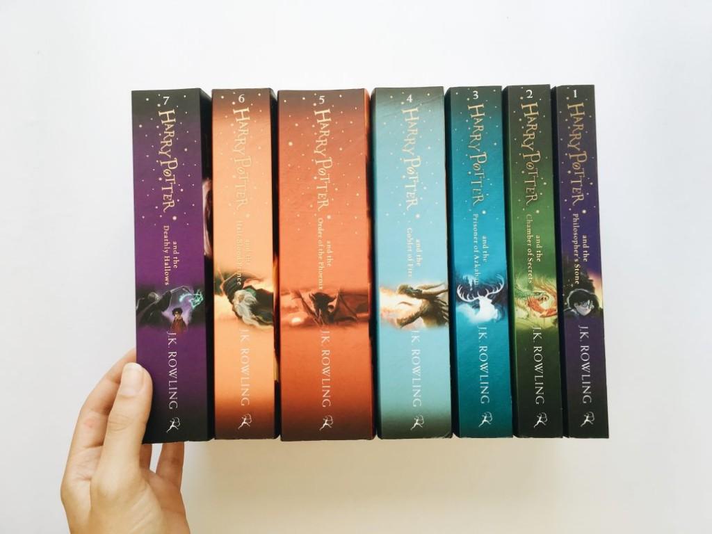 O que aconteceu com a minha coleção do Harry Potter?