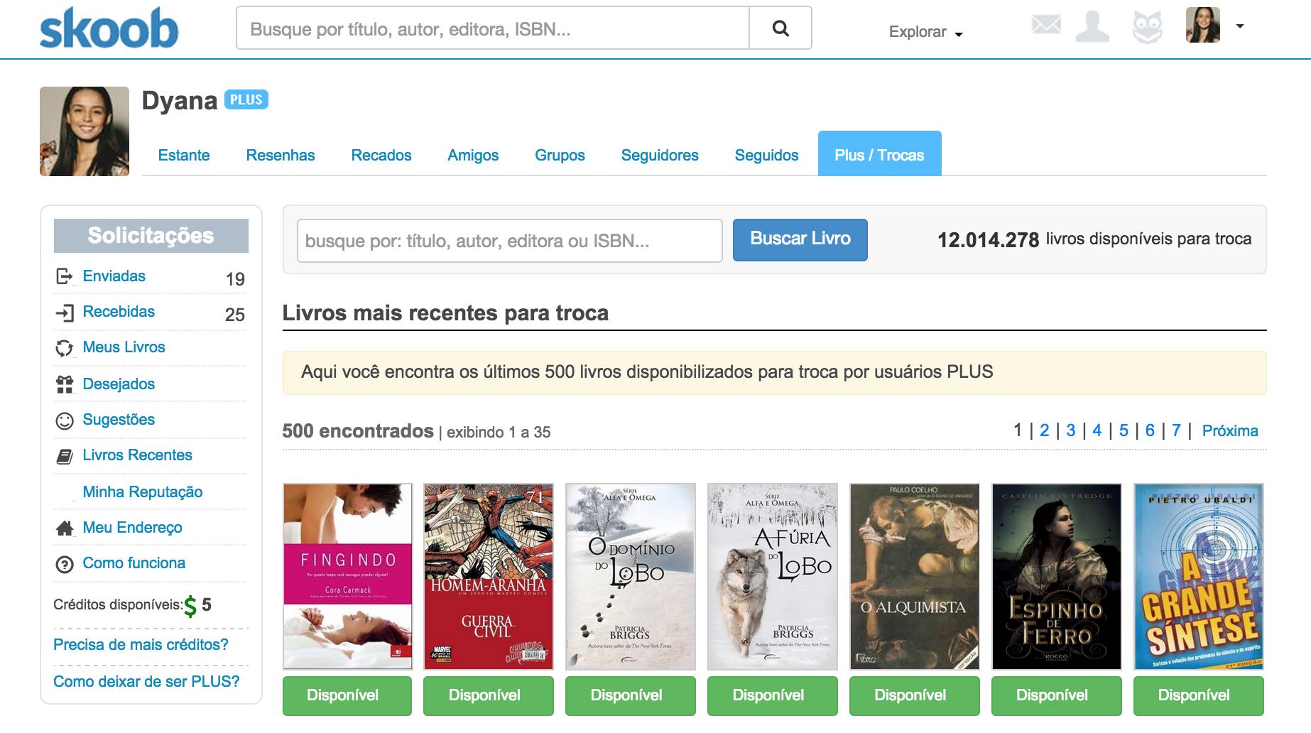 2 sites para trocar livros