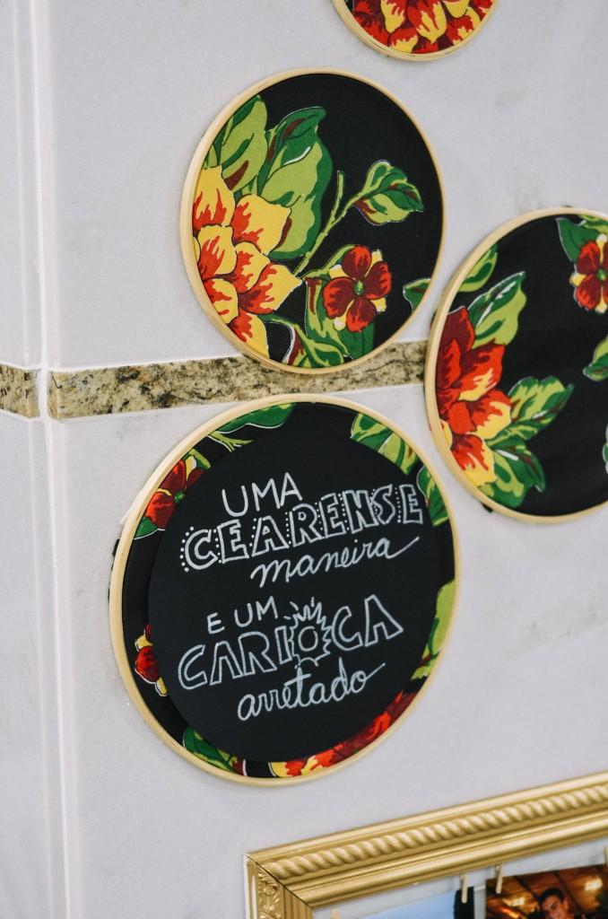 Chá bar com tema cearense no Rio de Janeiro