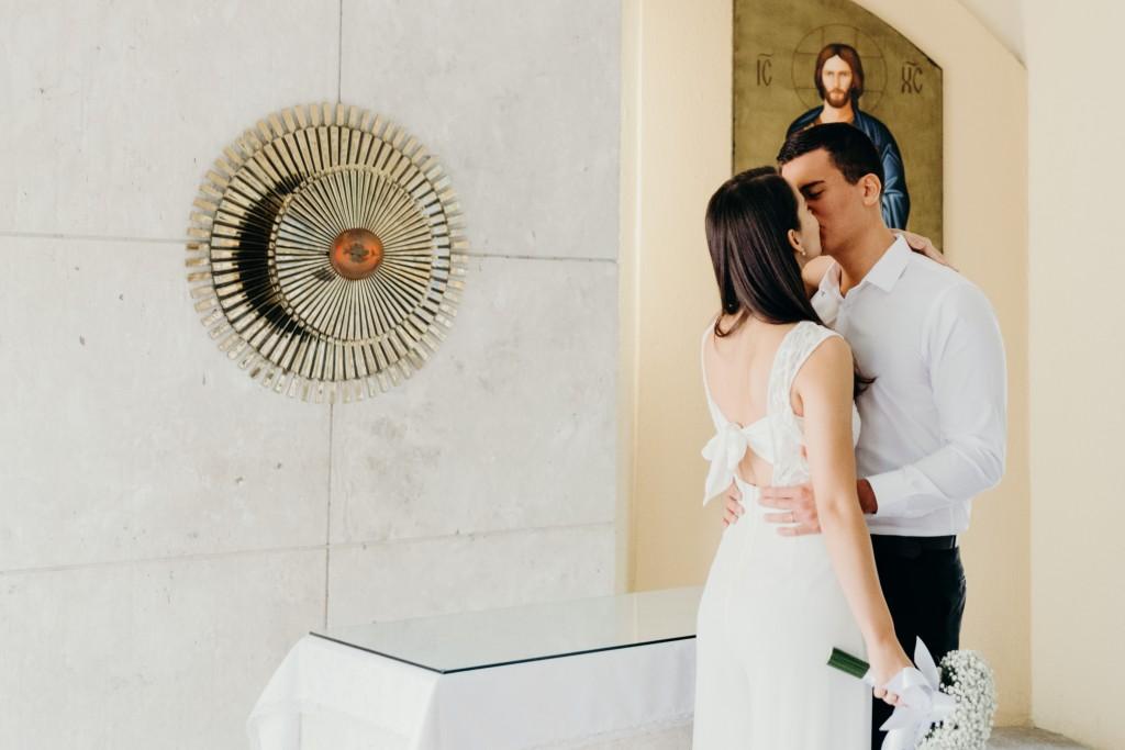Nossa cerimônia religiosa com efeito civil - Casamento Dy e Otávio
