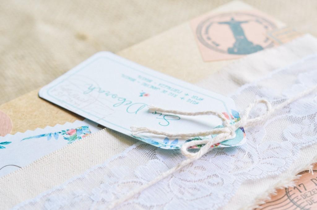 convite para padrinhos de casamento personalizado