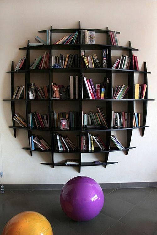 22 estantes/prateleiras diferentes para seus livros!
